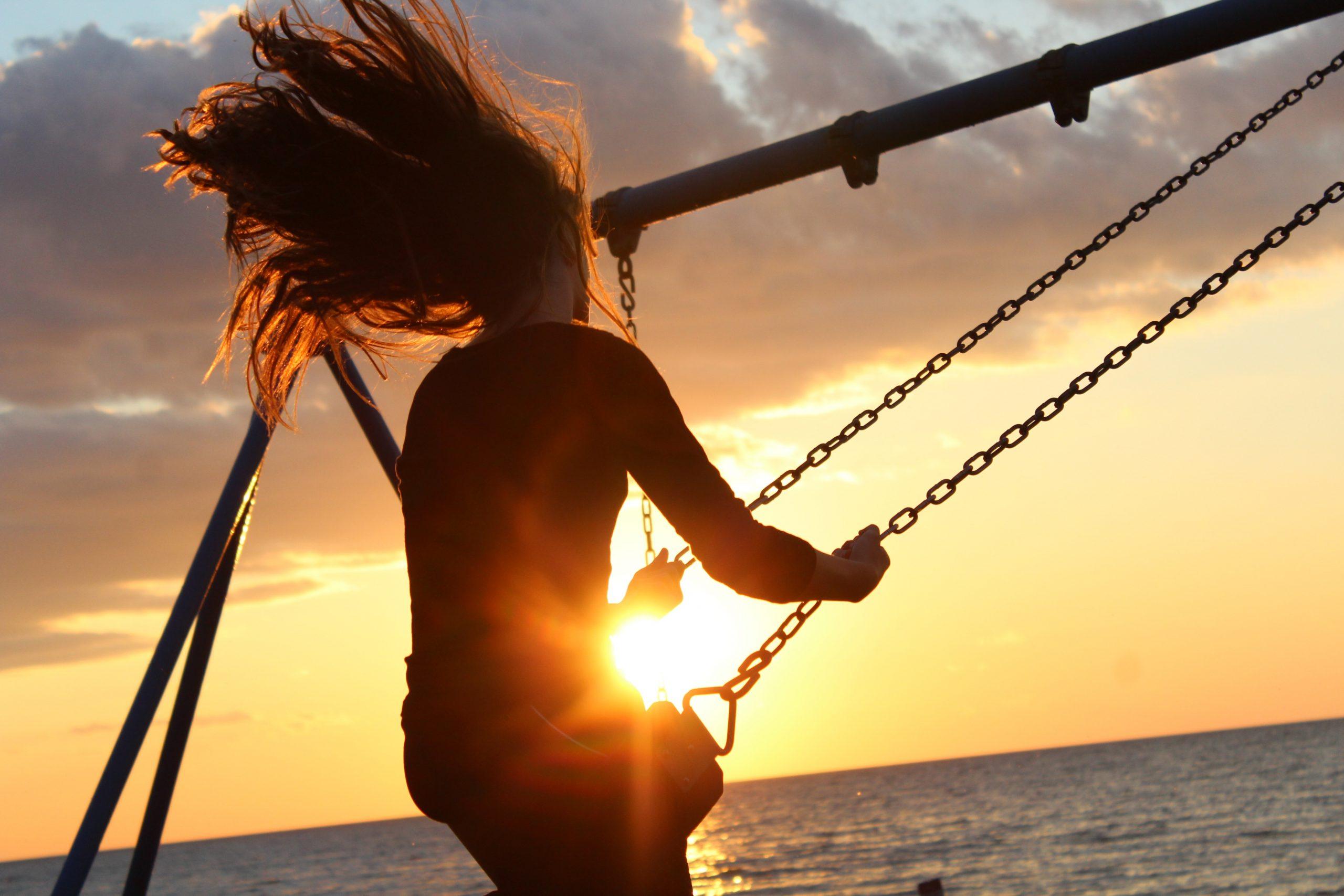 Golden hour swing