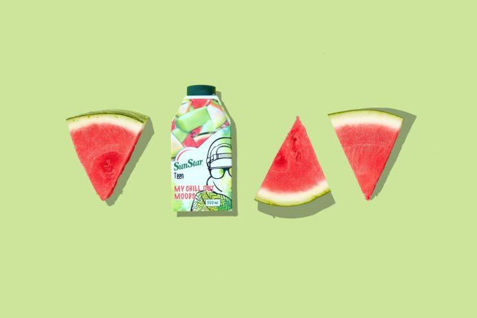 SunStar melon juice.